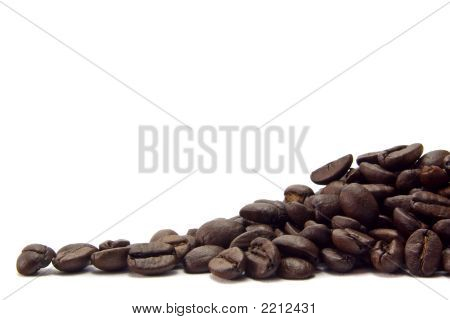 Mound Of Coffee Beans.
