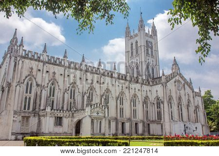 St Pauls Cathedral is a Anglican cathedral in Kolkata, West Bengal, India.