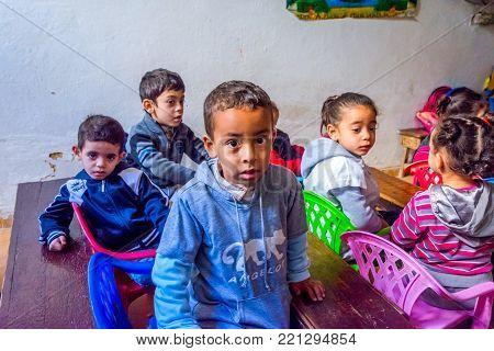 Kids At School, Morocco