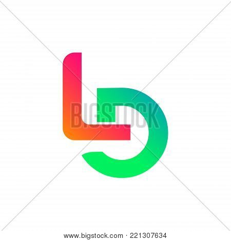 Initial Letter LD Initial alphabet Logo design Template element