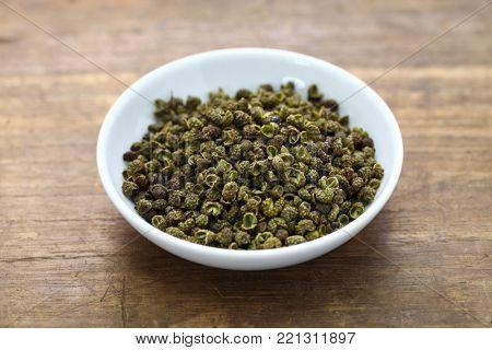 green sichuan pepper