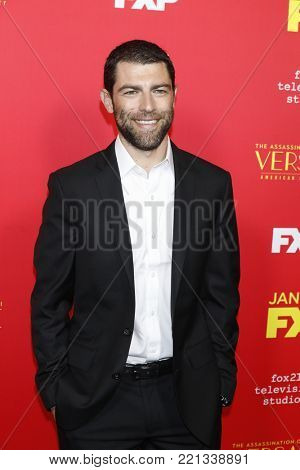 LOS ANGELES - JAN 8:  Max Greenfield at the