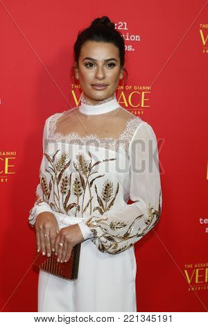 LOS ANGELES - JAN 8:  Lea Michele at the