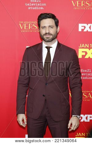 LOS ANGELES - JAN 8:  Edgar Ramirez at the