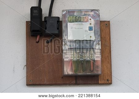 Home Electricity Meter Box Device