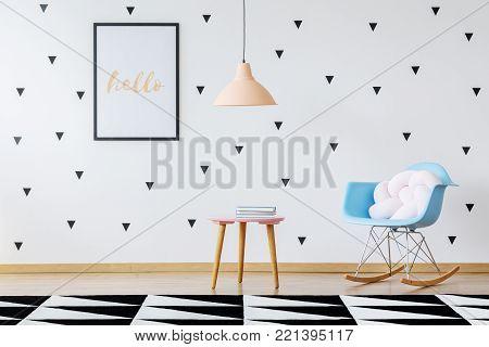 Cute And Functional Preschool Interior