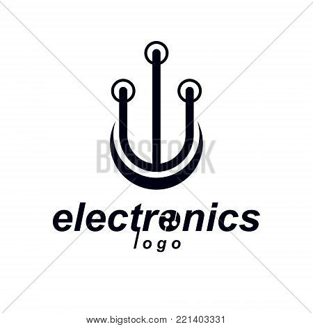 Vector Circuit Board Electronic Vector & Photo | Bigstock