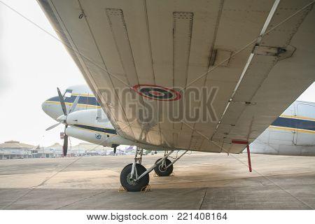 46157 Basler Bt-67 (dc-3) Of Royal Thai Air Force.