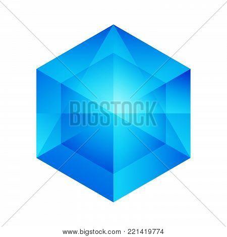 Hexagon - Branding hexagon vector logo concept illustration. Hexagon geometric polygonal logo. Hexagon abstract logo. Vector logo template. Design element.