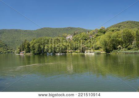 Rieti (italy), Along Velino River