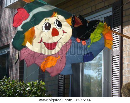Scarecrow Flag