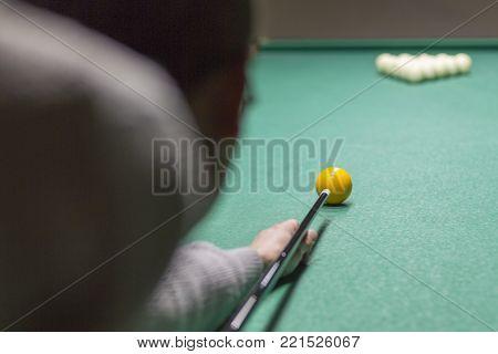 Billiards Close-up.