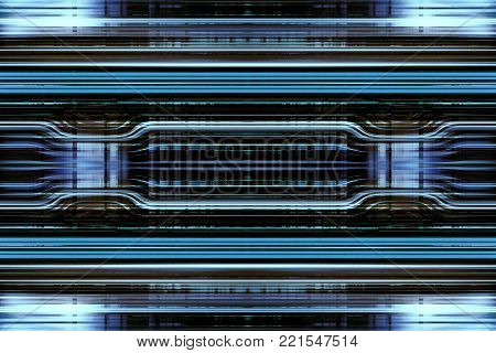 A black and blue abstract stripes background