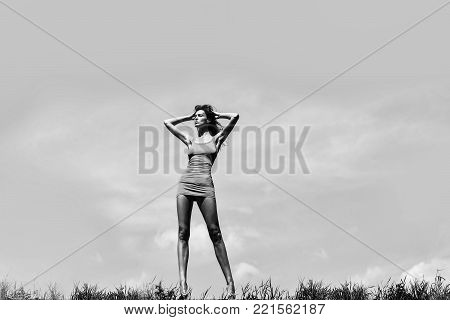 Pretty Girl With Sexy Body