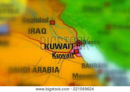 Kuwait, officially the State of Kuwait (Selective Focus).