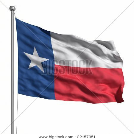 Flag Of The Texas