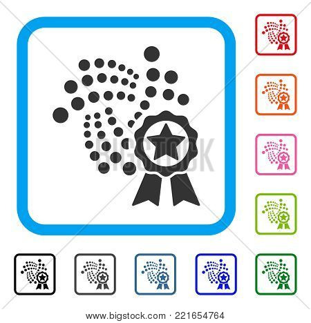Iota Star Award Icon Vector & Photo (Free Trial) | Bigstock