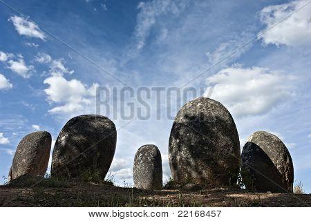 Megalithic Monument Of Almendres, Evora