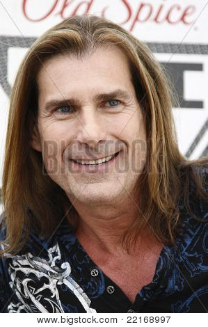 LOS ANGELES, CA - JULY 28: Fabio at the 'Old Spice Challenge' at The Grove on July 28, 2011 in Los Angeles, California
