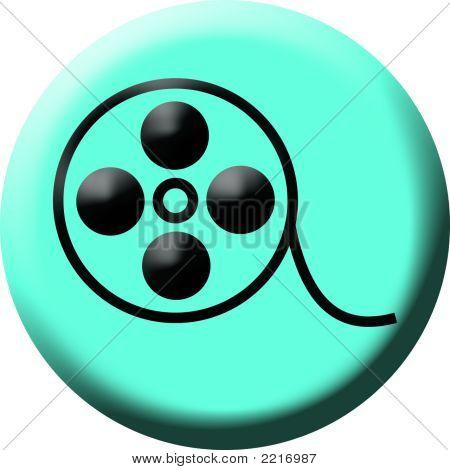 Movie Reel Button