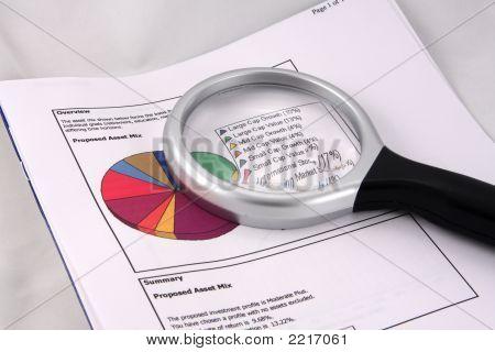 Asset Mix Pie Chart