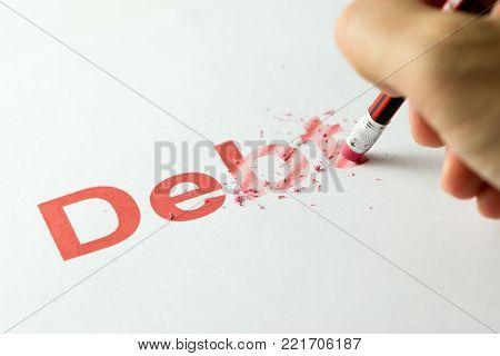 Erasing Or Deleting Debt