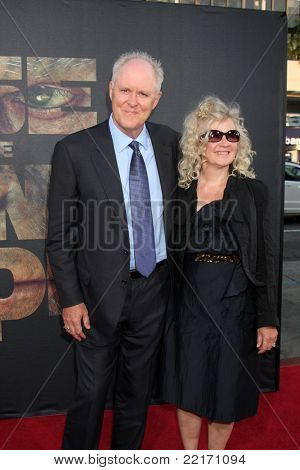 """LOS ANGELES - JUL 28:  John Lithgow arriving at the """"Rise of the Planet of the Apes"""" Los Angeles Premiere at Grauman's Chinese Theater on July 28, 2011 in Los Angeles, CA"""