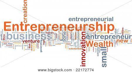 Background concept illustration of business entrepreneurship entrepreneur