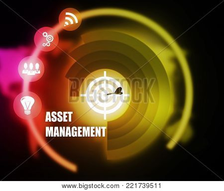 Asset Management plan concept business mechanism strategy
