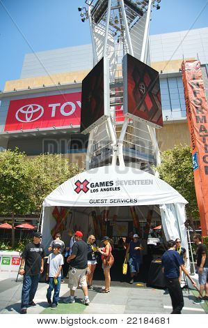 ESPN X Games Seventeen in Los Angeles