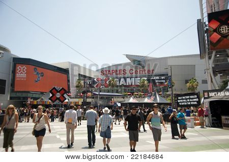 ESPN X Games in Los Angeles