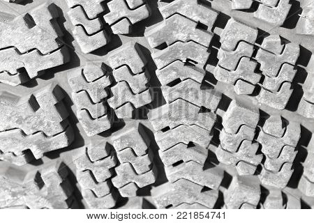 background of the wheel tread . Photo of an abstract texture