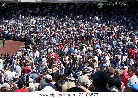 San Diego baseball fans