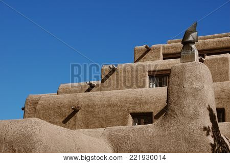 Traditional building style of the old Southwest