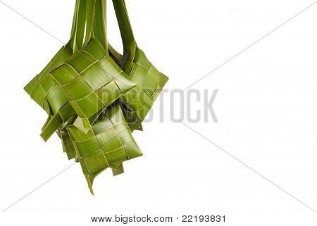Newly Weaved Green Ketupats