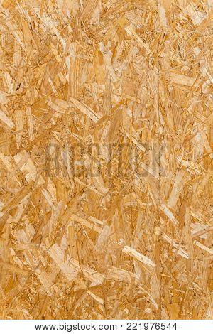 fiberboard of a wood panel