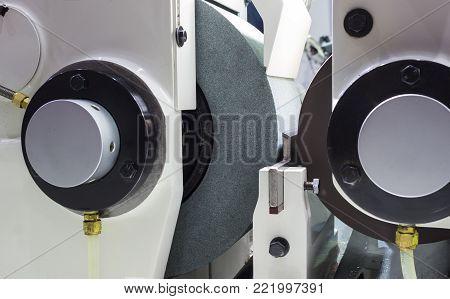 high precision centerless grinding CNC machine, side view