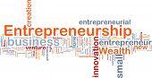 Background concept illustration of business entrepreneurship entrepreneur poster