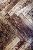 parquet - texture of a wooden floor poster