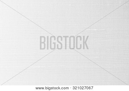 White Silk Fabric Background Of Satin Texture Cotton Cloth Pattern With Shiny Gradient Silky Woven D