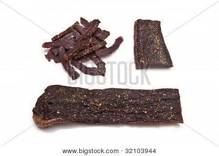 South African biltong (beef jerky)