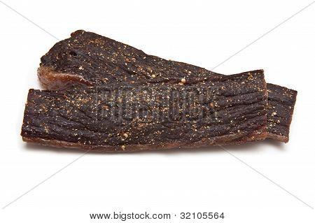 Biltong (dried beef jerky)