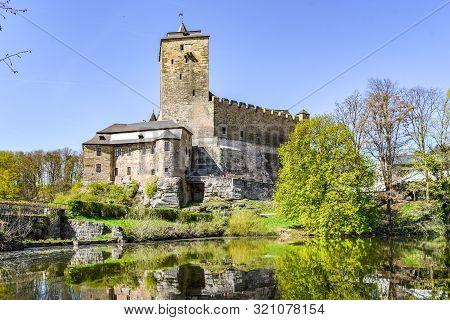 Kost Castle - Gothic Medieval Stronghold In Bohemian Paradise, Cesky Raj, Czech Republic