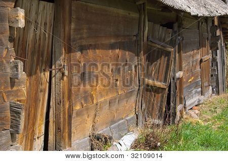The abandoned shed