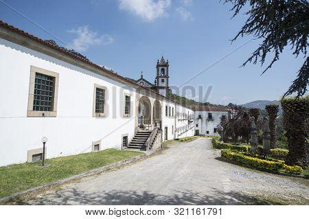 Europe Portugal Douro Monastery