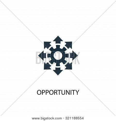 Opportunity Icon. Simple Element Illustration. Opportunity Concept Symbol Design. Can Be Used For We