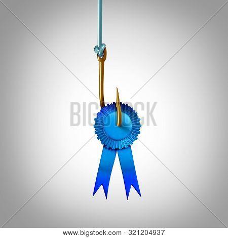 Meritocracy Concept As A Social Reward Symbol For Acquiring Awards Through Skill And Talent As A 3d