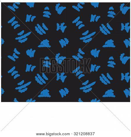 Abstract Brushstroke Print155-01.eps