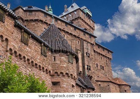 Haut-koenigsbourg Castle ( Château Du Haut-k