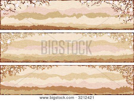 3 Textured Landscapes